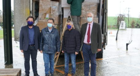 Δωρεά εξοπλισμού 500.000 ευρώ από το Παν. Νοσοκομείο της Λιέγης στα Νοσοκομεία και Κέντρα Υγείας της Θεσσαλίας