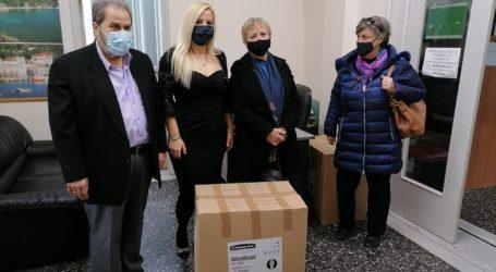 Υγειονομικό υλικό προσφέρει σε Νοσοκομείο και ΕΚΑΒ η ΕΚΠΟΛ Μαγνησίας