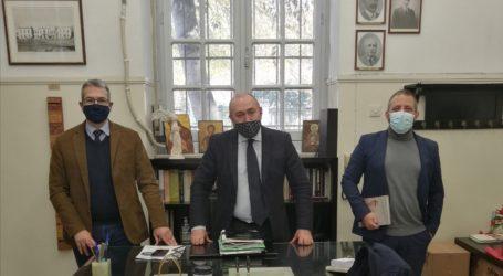 Διαδοχικές συναντήσεις Μεϊκόπουλου για το θέμα του Δικαστικού Μεγάρου Βόλου