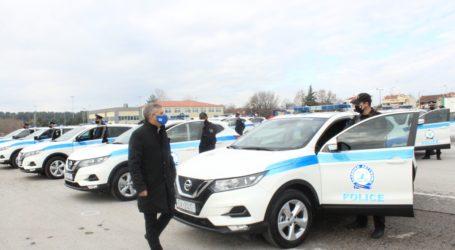 Παραδόθηκαν 68 νέα περιπολικά για την Αστυνομία στη Θεσσαλία
