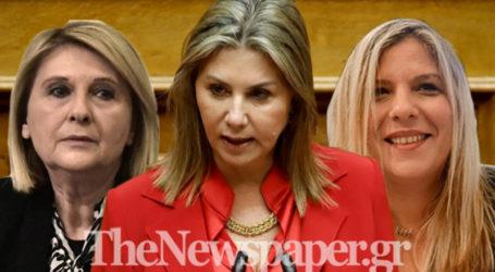 Ζέττα Μακρή, Σοφία Βούλτεψη, Μαρία Συρεγγέλα,  οι νέες γυναίκες στην κυβέρνηση