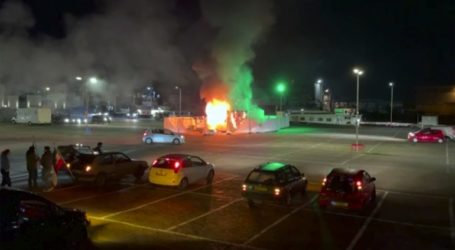 Δεύτερη νύχτα ταραχών σε διαδηλώσεις κατά της απαγόρευσης κυκλοφορίας