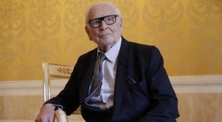 Έγινε η κηδεία του Pierre Cardin – Σε ιδιωτική τελετή το τελευταίο αντίο στον σχεδιαστή