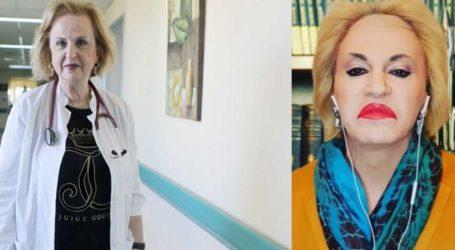 Ματίνα Παγώνη: Δείτε πώς σχολίασε τη μίμηση του Τάκη Ζαχαράτου προς το πρόσωπό της!