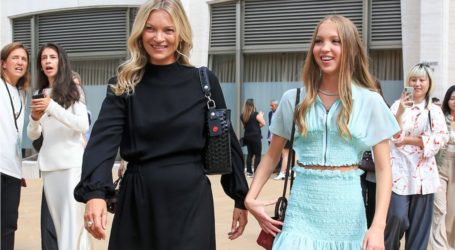 Kate Moss: Το τρυφερό μήνυμα της κόρης της Lila Grace για τα γενέθλιά της