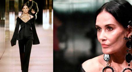 Demi Moore: Αγνώριστη στην πασαρέλα του οίκου Fendi!