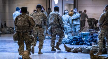 Ισχυρές δυνάμεις της Εθνοφυλακής φρουρούν το Καπιτώλιο