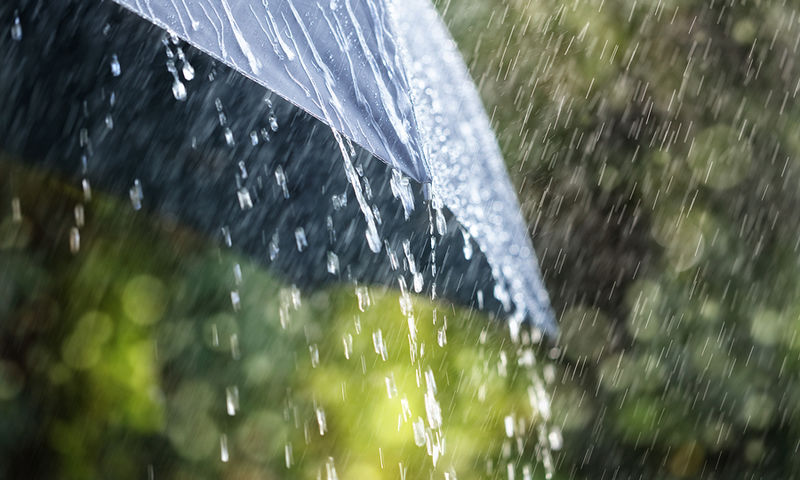 bigstock Rain drops falling from a blac 103705634