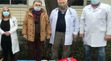 """Δωρεά έξι αναπνευστικών συσκευών για τους ασθενείς του ΓΝΛ – Το """"ευχαριστώ"""" της ΕΙΝΚΥΛ"""