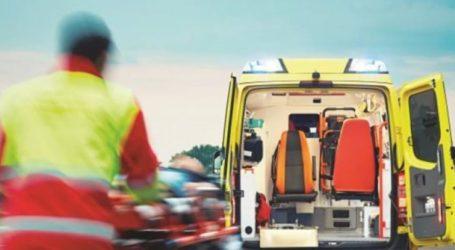 Σύγκρουση αυτοκινήτων στη Λάρισα: 46χρονος τραυματίστηκε και μεταφέρθηκε στο ΓΝΛ