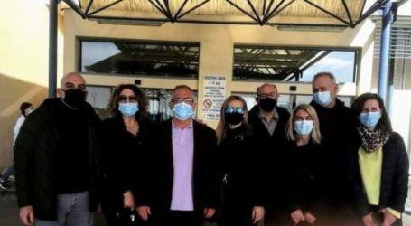 Ξεκίνησε ο εμβολιασμός του προσωπικού του Κ.Υ. Φαρσάλων (φωτο)