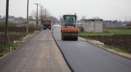 Ασφαλτοστρώσεις και έργα σε Κοιλάδα και Τερψιθέα από το Δήμο Λαρισαίων