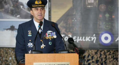 Συνεχίζεται η θητεία του Ελασσονίτη Αντιπτεράρχου Γ. Μπλιούμη ως Αρχηγού Γενικού Επιτελείου Αεροπορίας