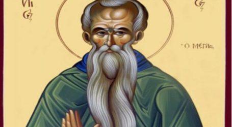 Ποιος ήταν ο ορφανός Άγιος Ευθύμιος που γιορτάζει σήμερα