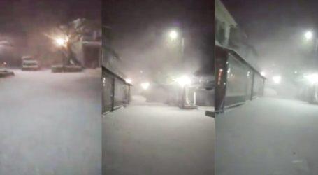 Ντύθηκε στα λευκά ο Κίσσαβος – Δείτε εντυπωσιακό βίντεο από τη Σπηλιά