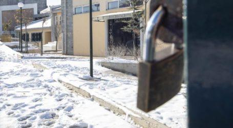Κλειστά αυτά τα σχολεία αύριο στον δήμο Τεμπών λόγω παγετού