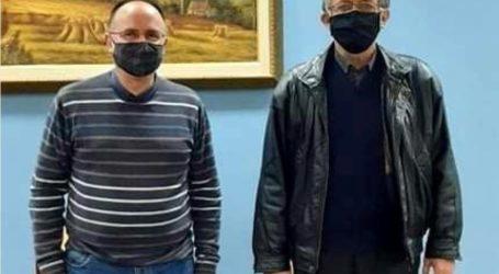 Συνάντηση ιδιοκτητών Ενοικιαζόμενων Δωματίων Μαγνησίας με τον Τέλη Μπασδάνη