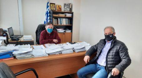 Δήμος Τεμπών: Ο Γ. Μανώλης επισκέφθηκε το υποκατάστημα του ΕΛΓΑ Λάρισας