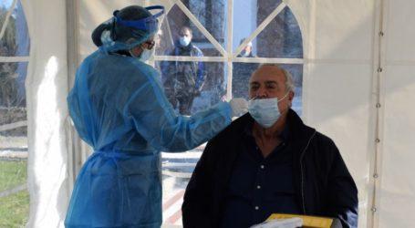 Τη διαδικασία των rapid test στους Αγίους Αναργύρους παρακολούθησαν αντιδήμαρχοι του Δήμου Κιλελέρ