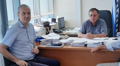 Ελασσόνα: Επικοινωνία Γάτσα με τον ΕΛΓΑ για τις αποζημιώσεις σε παραγωγούς του δήμου