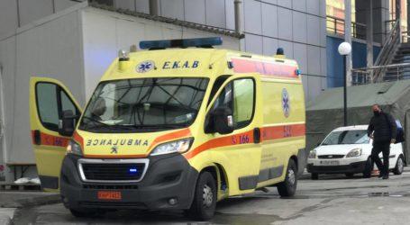 Τροχαίο ατύχημα στον Βόλο – Δύο τραυματίες στο Νοσοκομείο