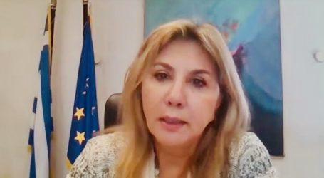 Ευρεία τηλεδιάσκεψη Ζέττας Μακρή με τον Διευθυντή Πρωτοβάθμιας Εκπαίδευσης του Ν. Μαγνησίας και εκπαιδευτικούς