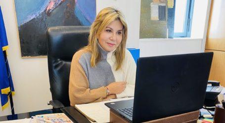 Η Ζέττα Μακρή σε τηλεδιάσκεψη με τους Διευθυντές των Ειδικών Σχολείων της Μαγνησίας