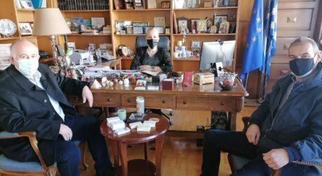 Επί τάπητος τα θέματα του Δήμου Ρ. Φεραίου σε σύσκεψη στην Π.Ε.Μαγνησίας