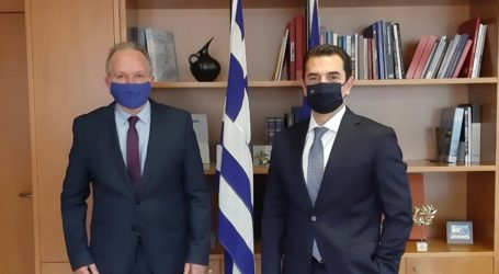 Συνάντηση Αθανάσιου Λιούπη με τον Υπουργό Περιβάλλοντος & Ενέργειας