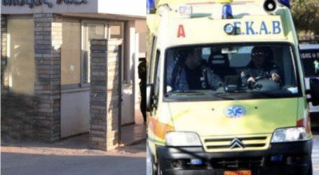 ΤΩΡΑ: Στο Νοσοκομείο Βόλου προσφυγόπουλο 1 έτους από του «Μόζα»