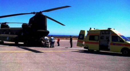ΤΩΡΑ: Επείγουσα αερομεταφορά 61χρονου ασθενούς από τη Σκόπελο