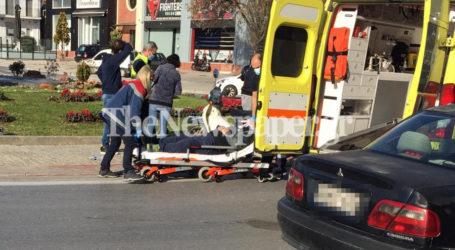 Βόλος: Τροχαίο με τραυματία στον κυκλικό κόμβο στα ΚΤΕΛ [φωτορεπορτάζ]