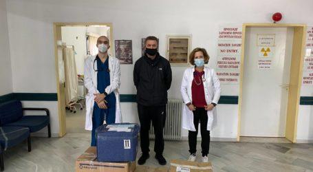 Δωρεάν ιατρικός και τεχνολογικός εξοπλισμός στην Αλόννησο από ιδιωτικό νοσοκομείο της Λιέγης