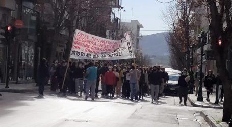 Πορεία φοιτητών στον Βόλο ενάντια στο νομοσχέδιο του Υπουργείου Παιδείας [βίντεο]