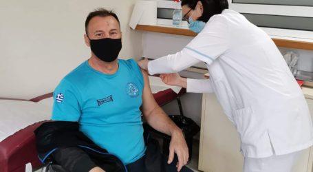 Εμβολιάστηκε ο Γκογκινούδης
