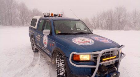 Λέσχη Ειδικών Δυνάμεων: Περιπολία στο χιονισμένο Πήλιο [βίντεο]