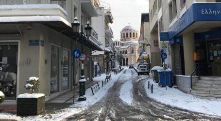 Μήδεια: Έτσι ξημέρωσε ο Βόλος με το χιόνι – Η εικόνα στους δρόμους [φωτορεπορτάζ]