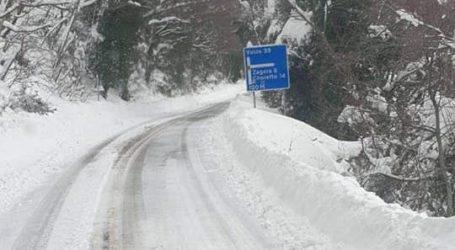 Ώρα 12.30: Η κατάσταση στους δρόμους της Μαγνησίας – Που απαιτούνται αλυσίδες