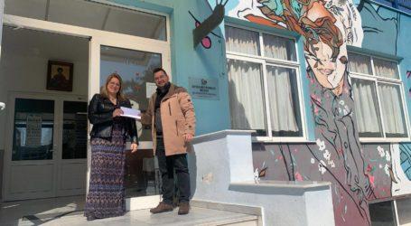 1.000 ευρώ για το Ορφανοτροφείο Βόλου από Τζήμα και Καπουρνιώτη