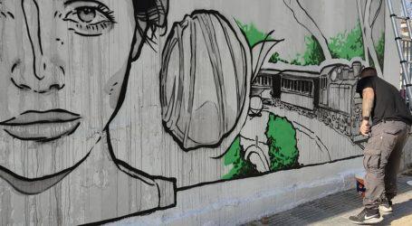 Εκπληκτική τοιχογραφία