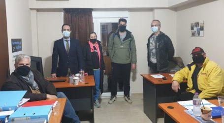 Συνάντηση του Κων. Μαραβέγια με τους ιδιοκτήτες γυμναστηρίων για τα σοβαρά προβλήματα από το παρατεταμένο lockdown