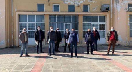 Συνάντηση εργασίας για την ενεργειακή αναβάθμιση του ΕΠΑΛ Τυρνάβου