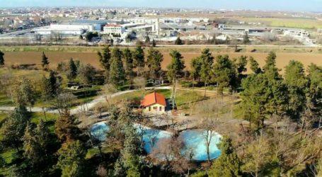 Το Mikel θέλει να αξιοποιήσει το Αισθητικό Άλσος της Λάρισας στα πρότυπα του πάρκου του ΟΣΕ