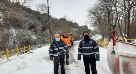 Δήμος Τεμπών: Συνεχίζονται οι προσπάθειες να κρατηθεί ανοιχτό το οδικό δίκτυο