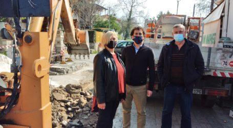 Αργύρης Κοπάνας: «Ανακατασκευή κεντρικού πεζοδρόμου στα Άνω Λεχώνια – Παρεμβάσεις σε πλατείες και καλντερίμια στα χωριά μας»