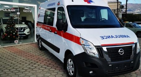 Νέο σύγχρονο ασθενοφόρο στον «Κένταυρο»