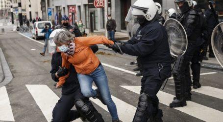 Προσαγωγές στις Βρυξέλλες για την αποτροπή διαδηλώσεων κατά των περιοριστικών μέτρων