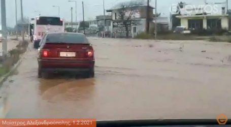 Πλημμύρισε νηπιαγωγείο στον Έβρο – Εγκλωβίστηκαν μαθητές