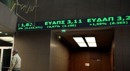 Ανοδική αντίδραση και στο Χρηματιστήριο Αθηνών