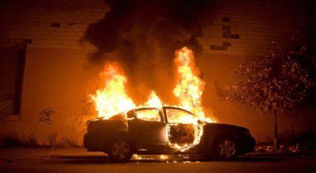 Παρανάλωμα του πυρός αυτοκίνητο στη Θεσσαλονίκη